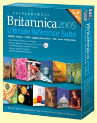 encyclopedia britannica 2005 cd ultimate reference suite