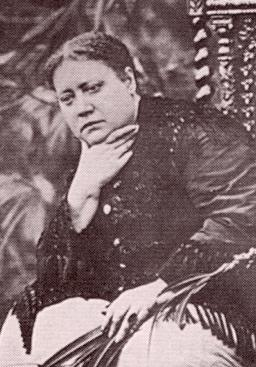 HP Blavatsky in 1881