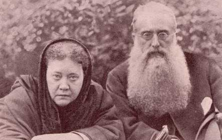 H.P. Blavatsky and H.S. Olcott