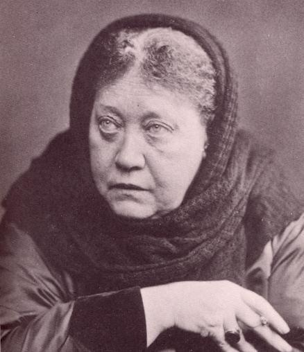 H.P. Blavatsky in 1889, London